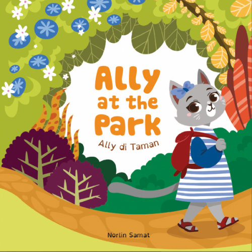 Ally at the park