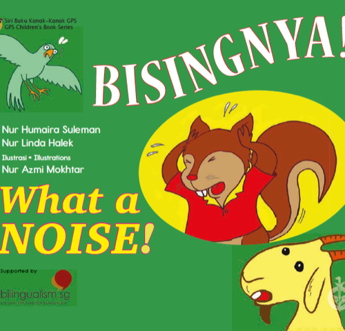 Bisingnya_Malay_English_cover