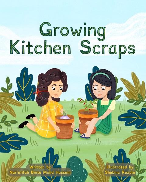 Growng kitchen scraps edit