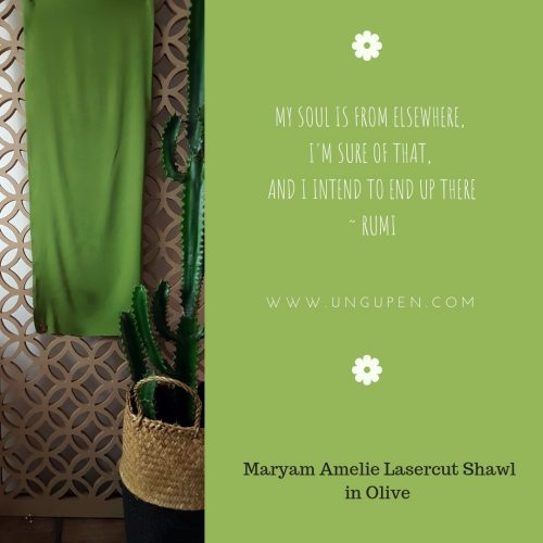 MALasercutShawl olive