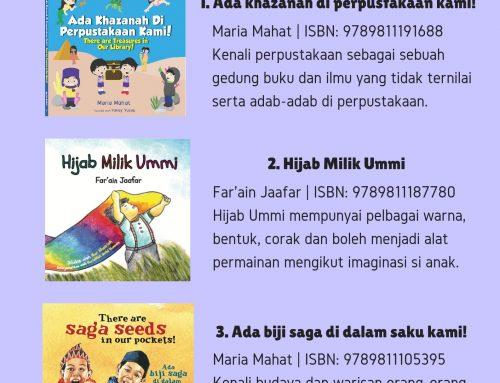10 penjualan terbaik bagi buku kanak-kanak