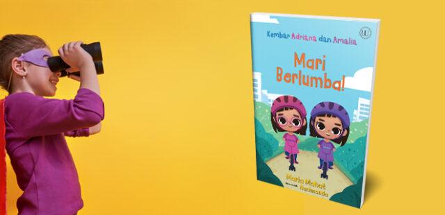 Kembar Adriana dan Amalia: Mari Berlumba
